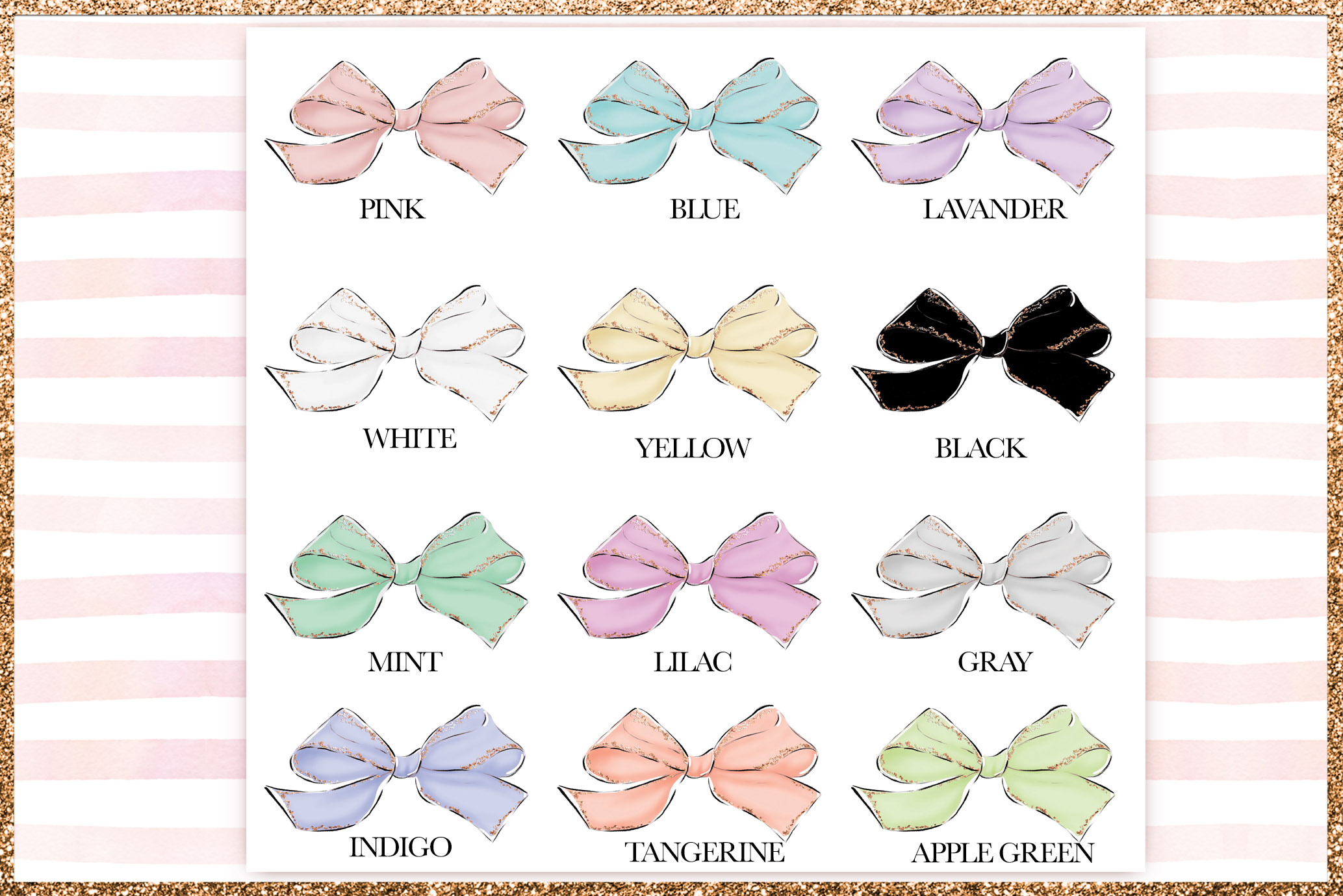 Bows Png Cliparts example image 2