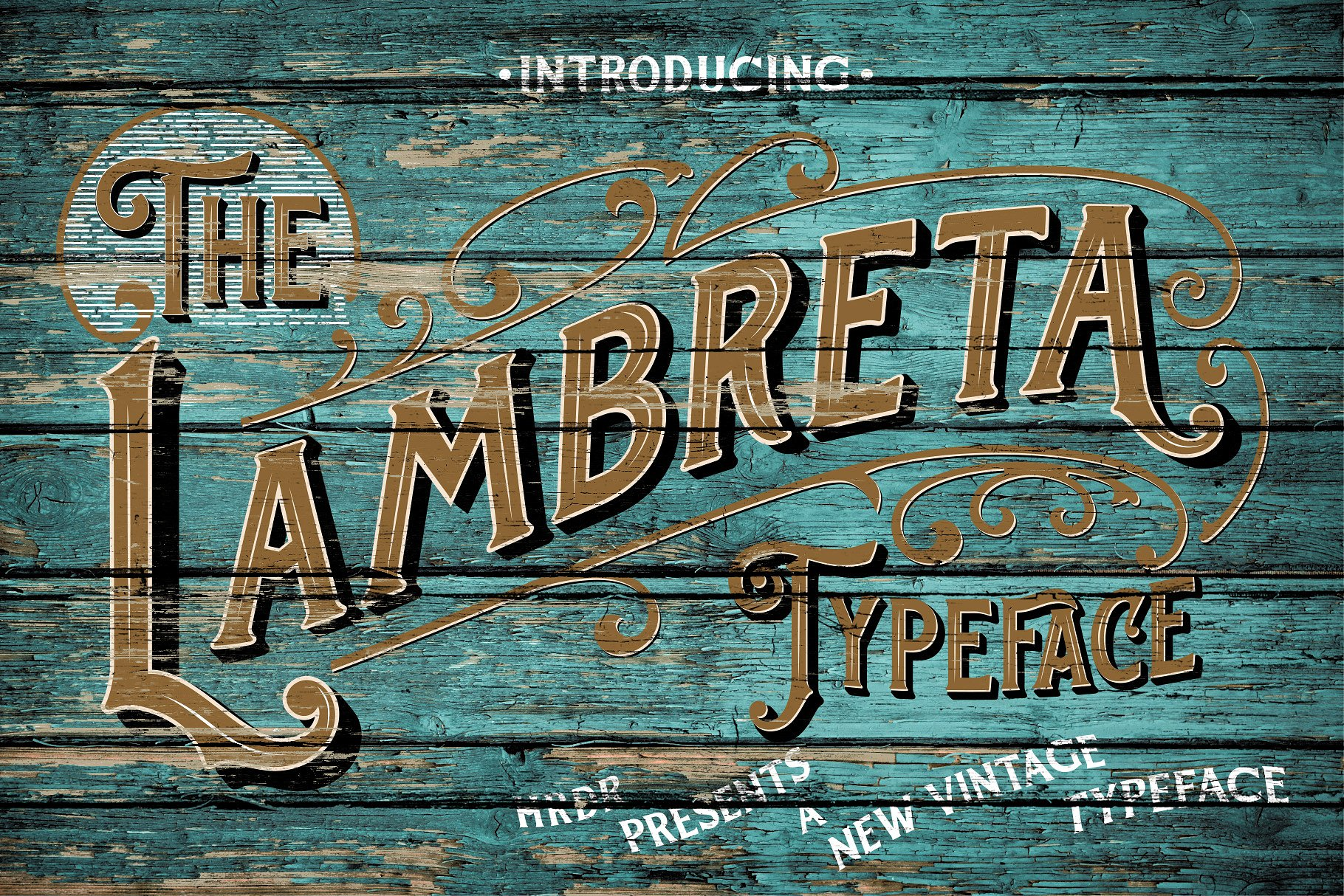 The Lambreta Font Duo example image 1