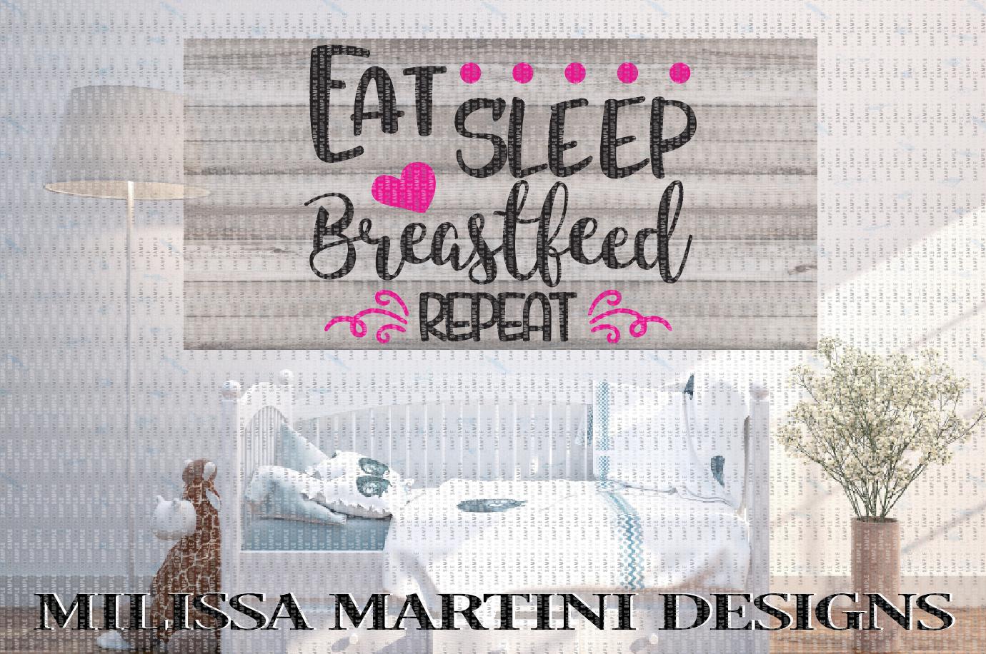 EAT, SLEEP, BREASTFEED, REPEAT example image 2