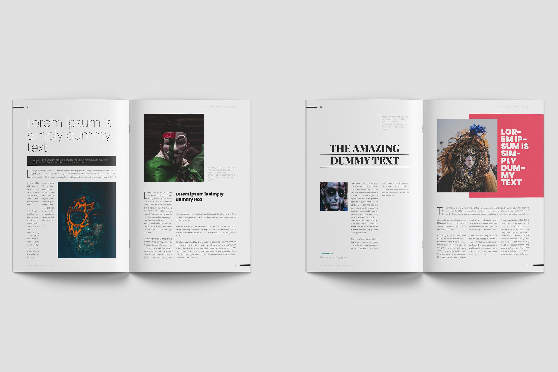Fantasy Magazine Template example image 6