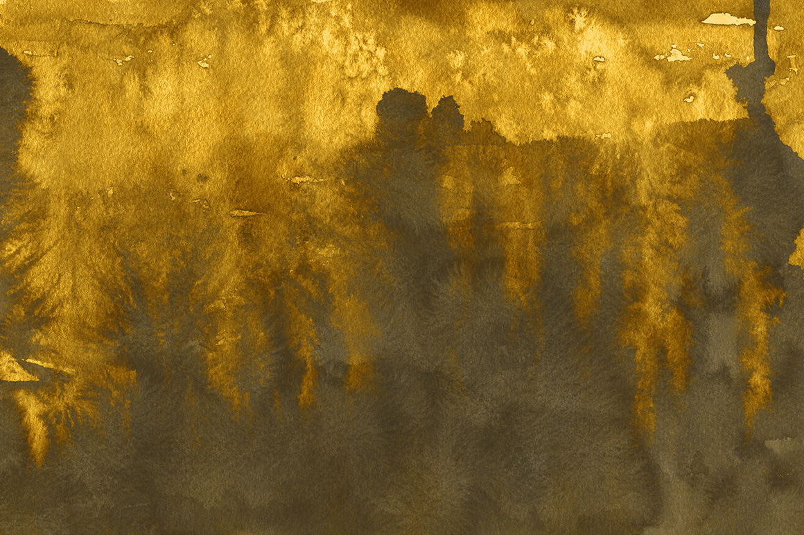 Gold Ink Backgrounds example image 5