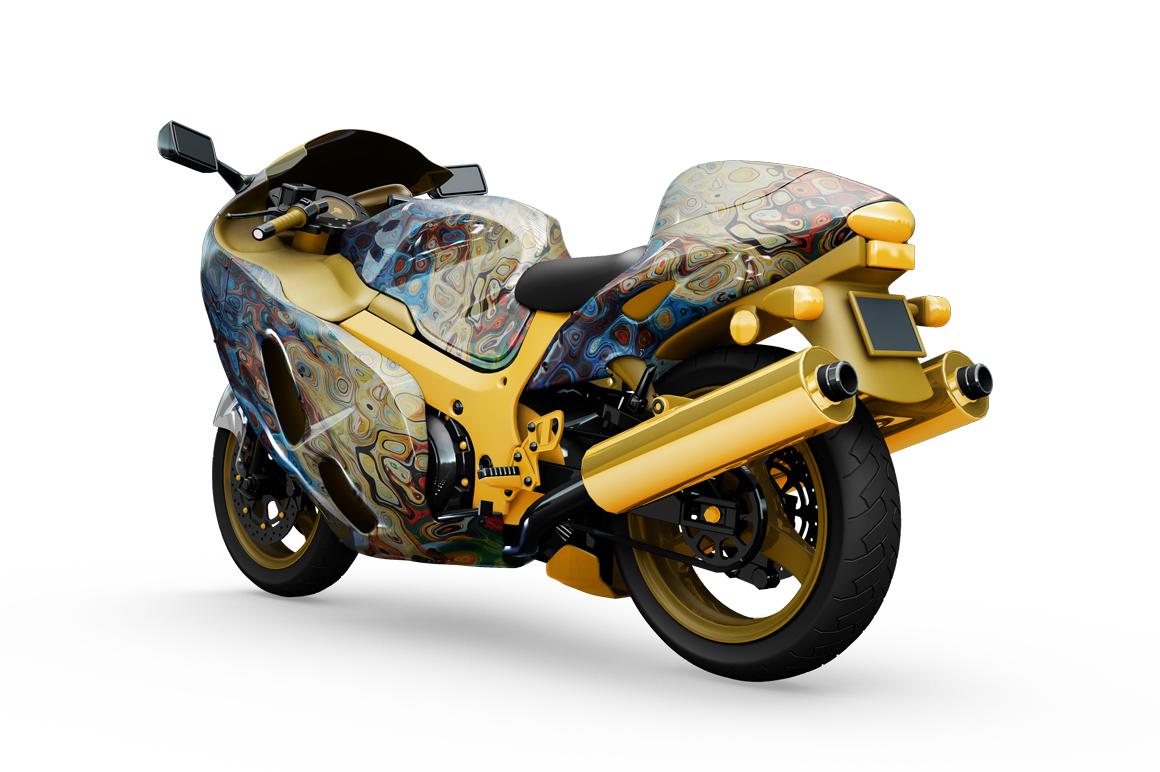 Motorcycle Mockup example image 7