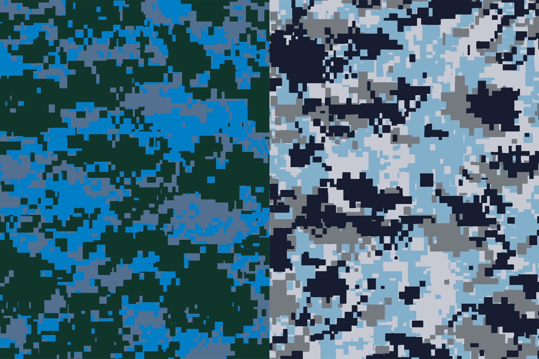 10 Pixel Camouflage Patterns example image 7