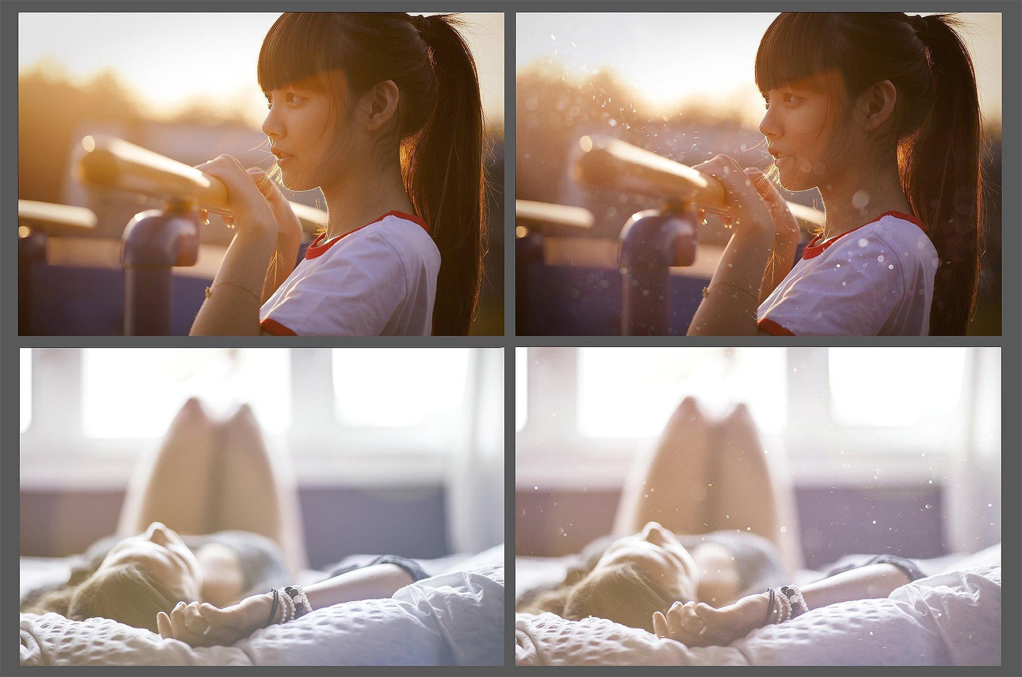 75 Floating Dust Photo Overlays example image 5