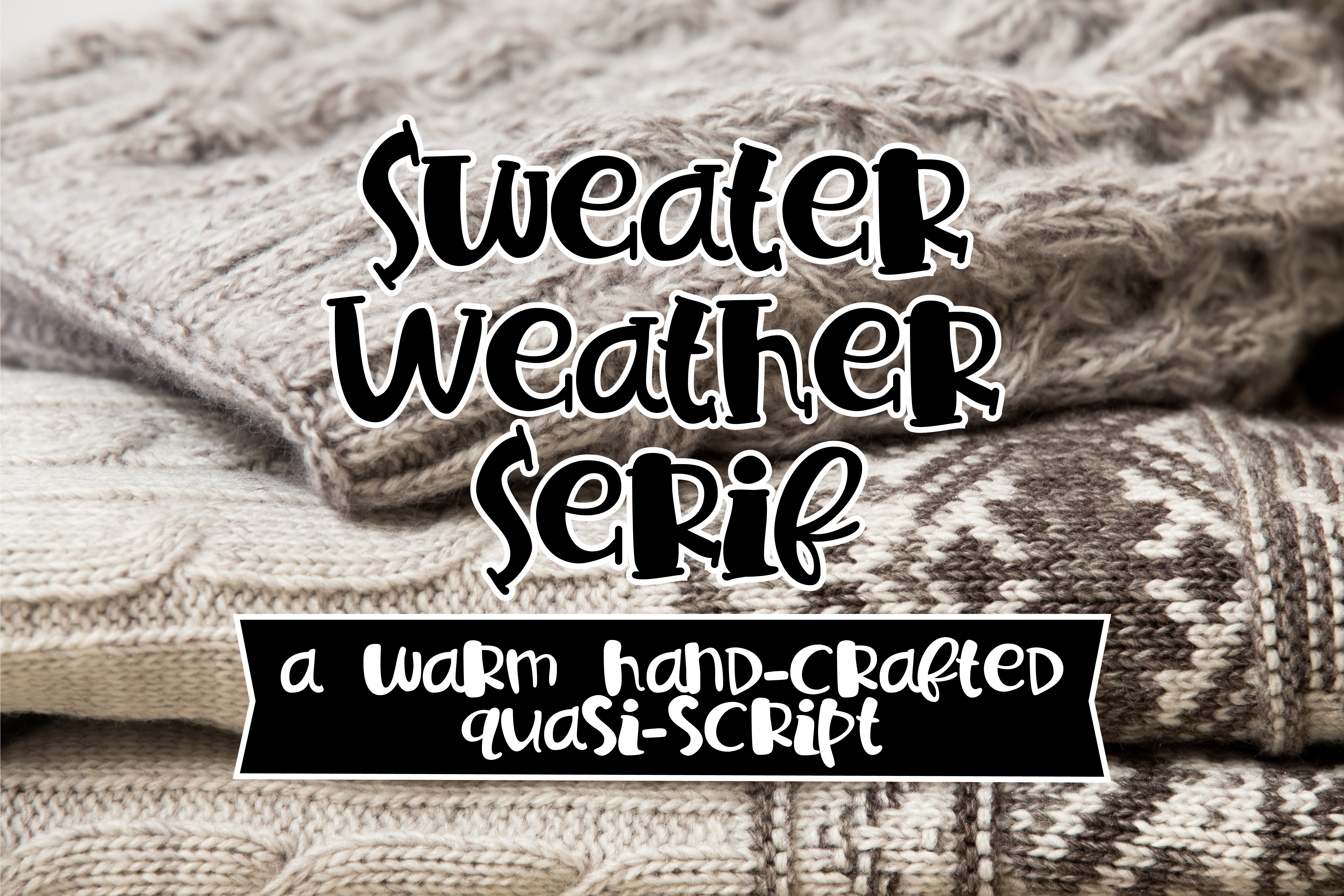 PN Sweater Weather Serif example image 1