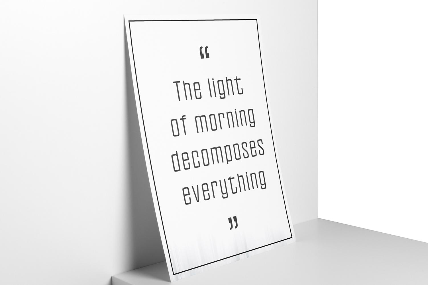 Sheylla Sans Serif Typeface example image 4