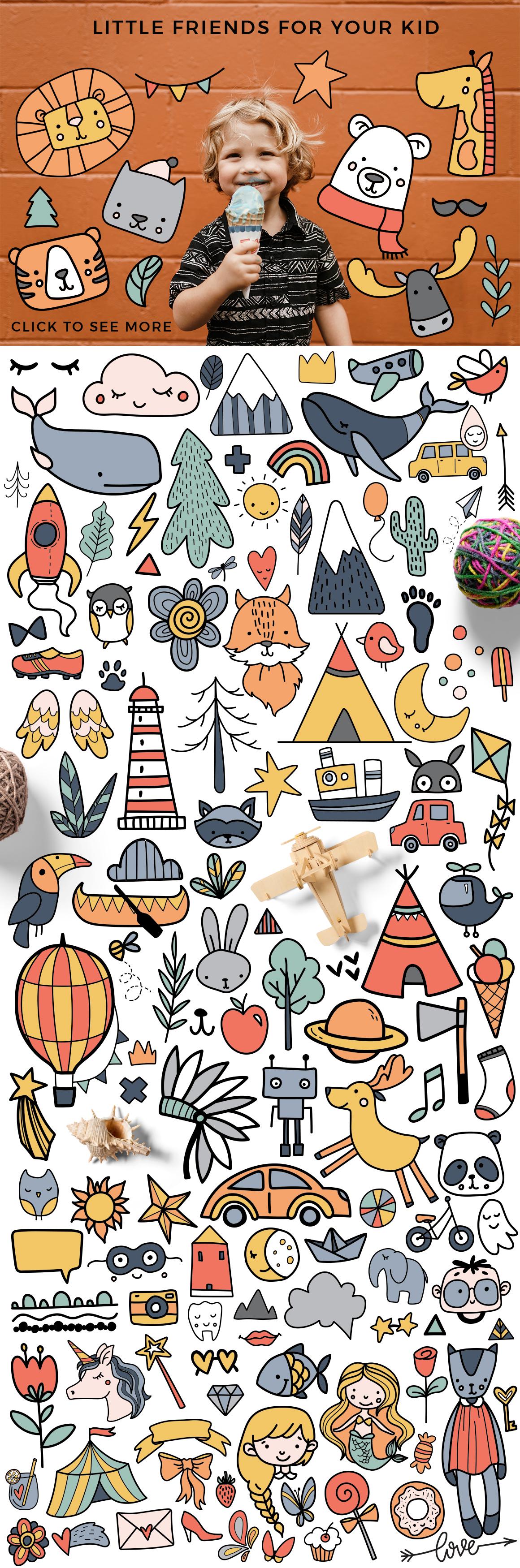 Kids room - scandinavian design pack example image 2