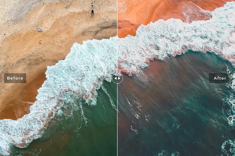 Orange And Teal Mobile & Desktop Lightroom Presets example image 2