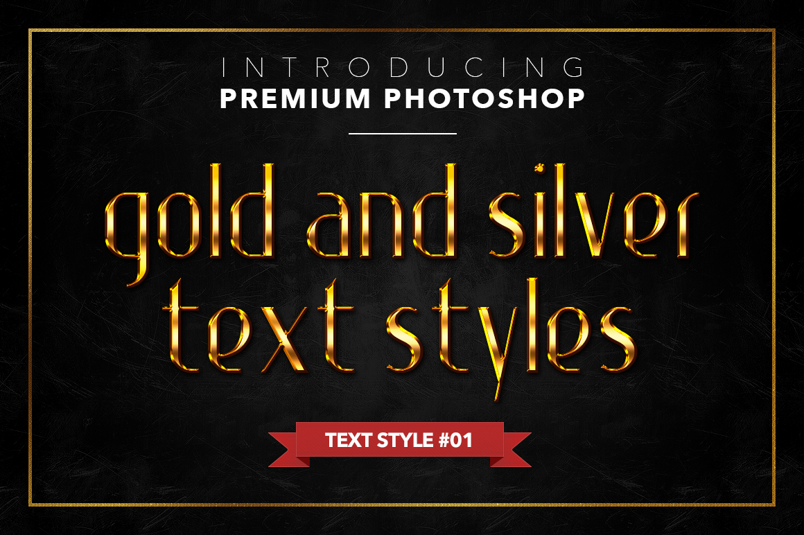 Gold & Silver #1 - 20 Text Styles example image 23