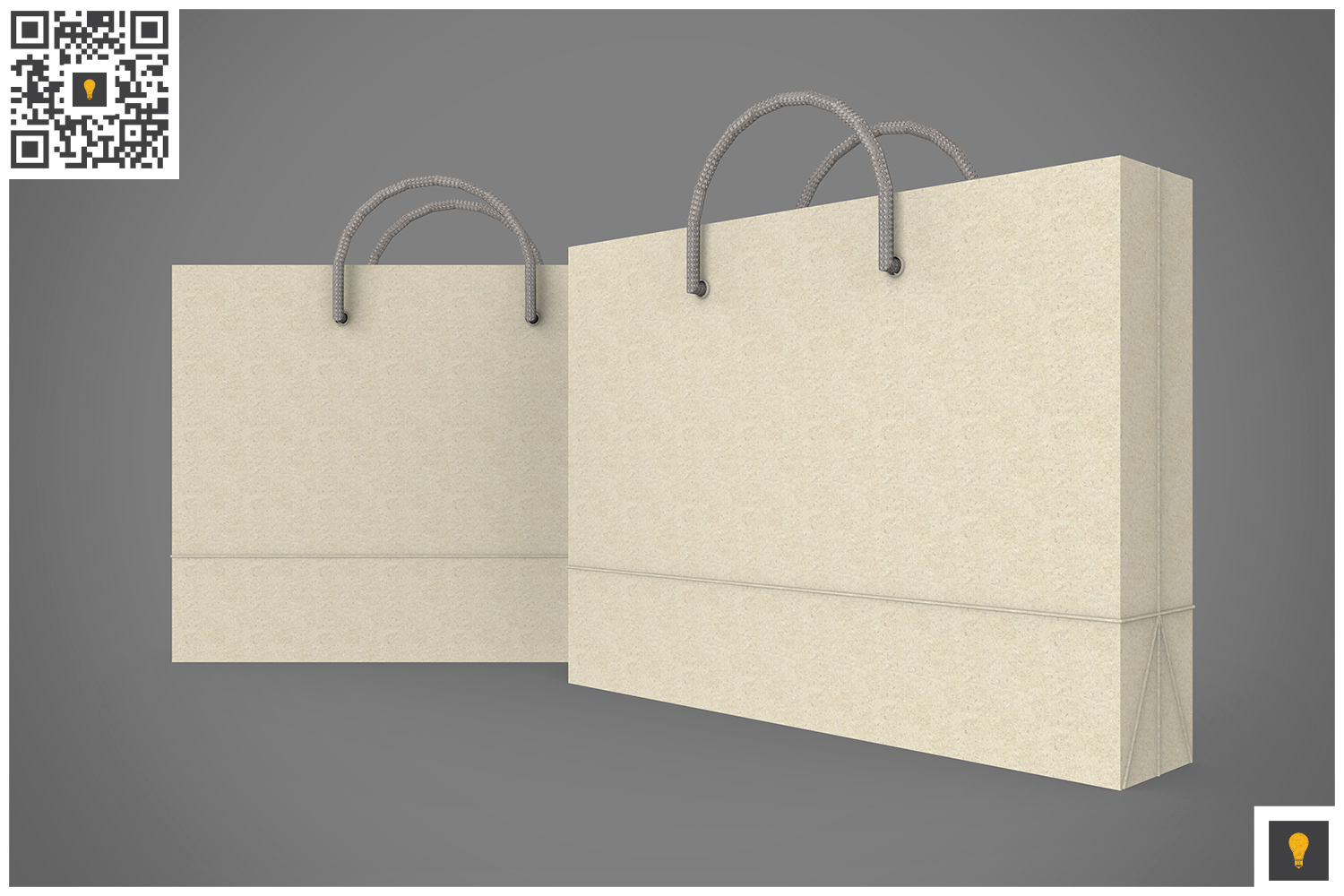Shopping Bag 3D Render example image 13