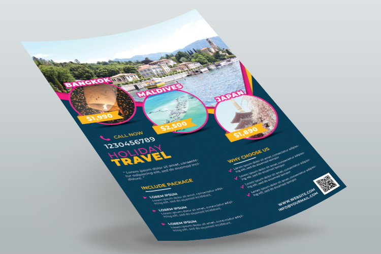 Travel Agency Flyer Template example image 2