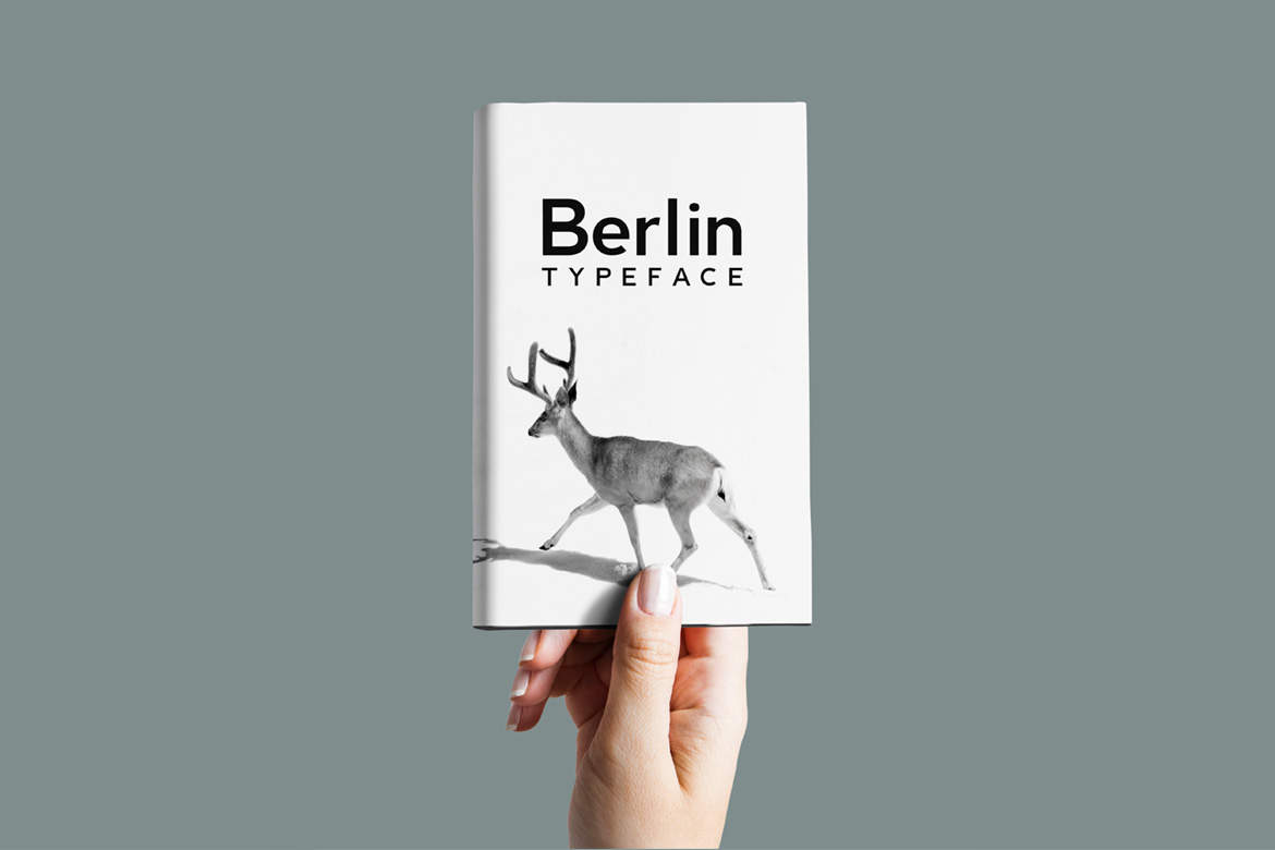 BERLIN - Minimal Typeface & Web Fonts example image 6