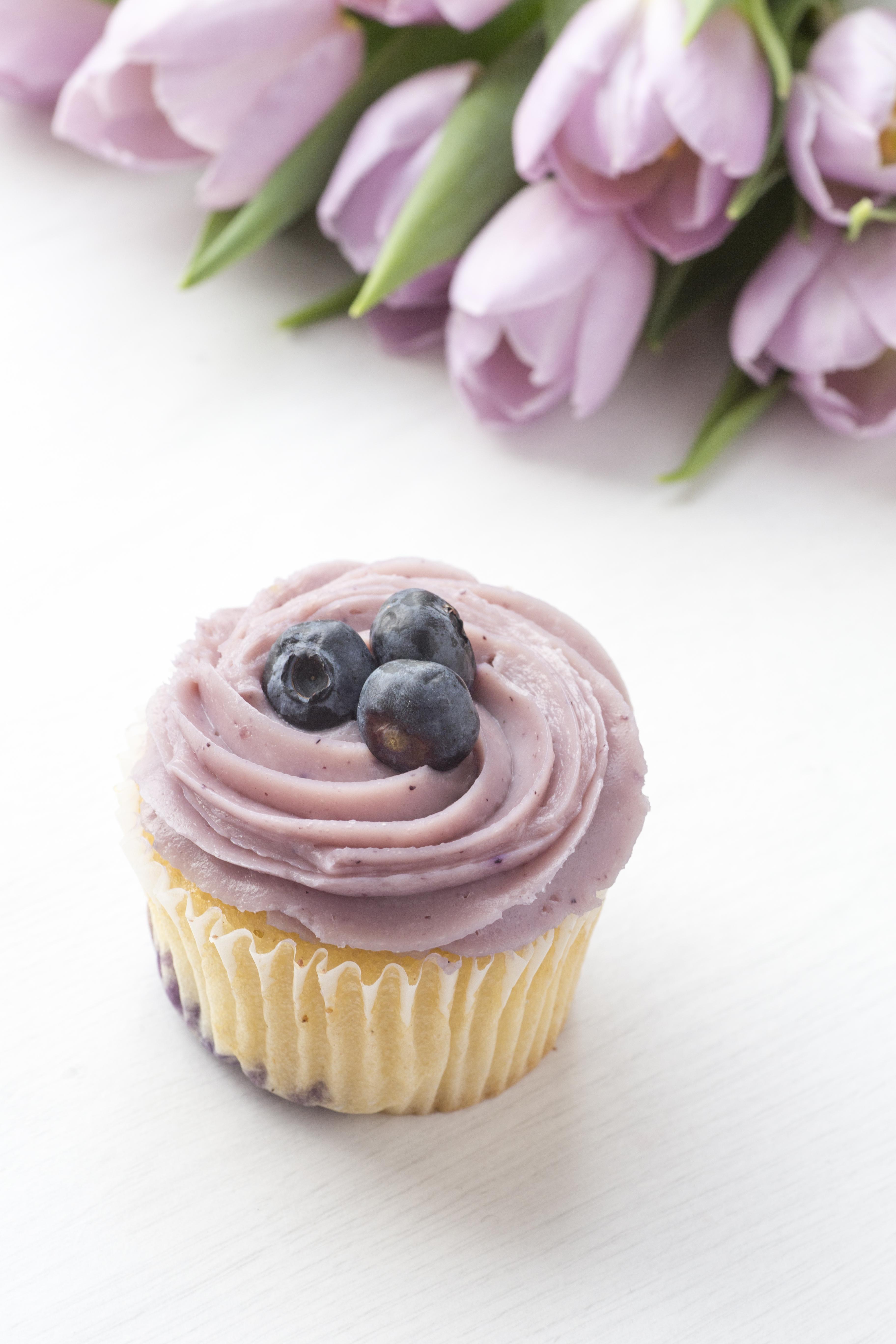 Purple Cupcake Syled Stock bundle example image 2