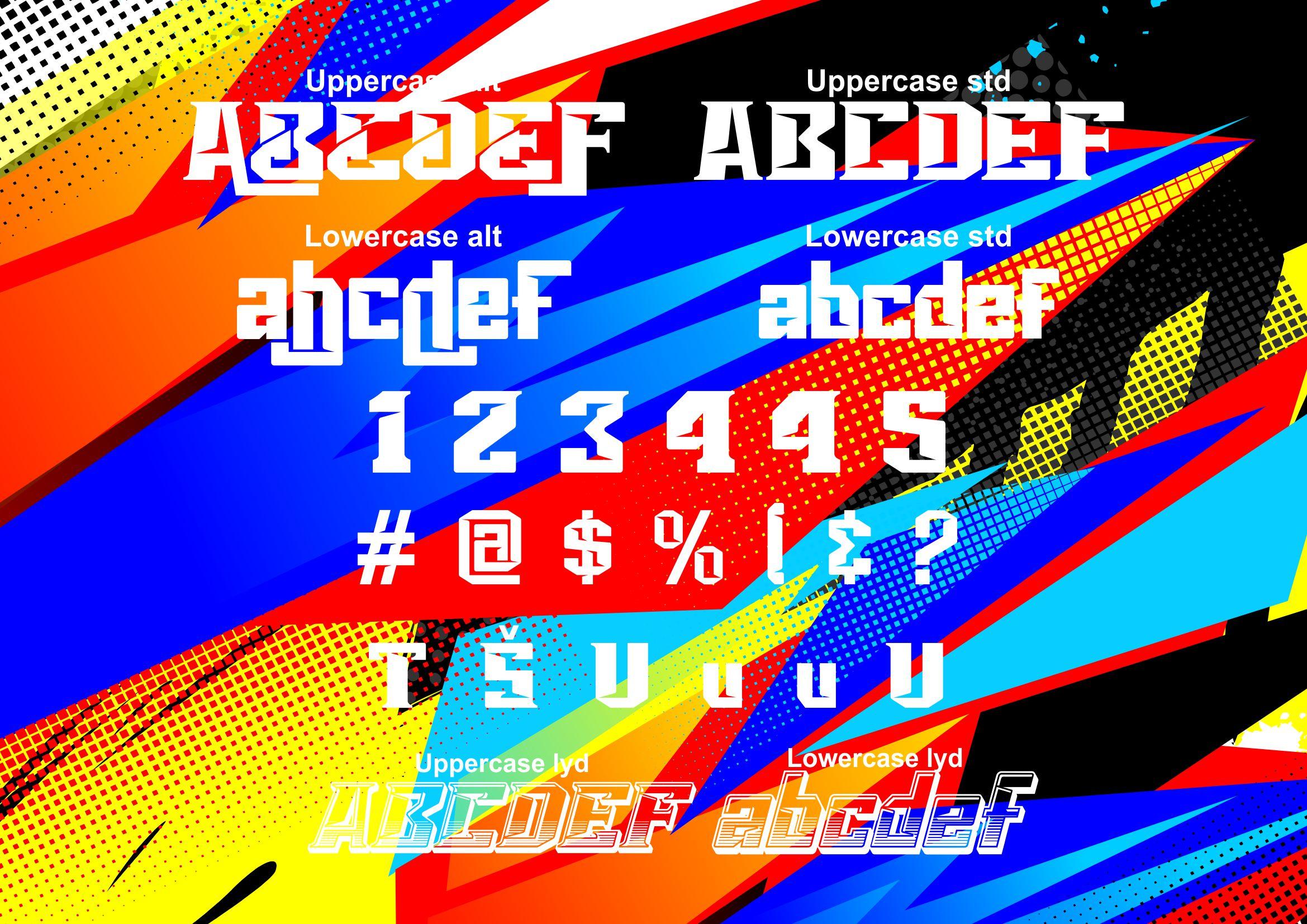Vorg typeface example image 3
