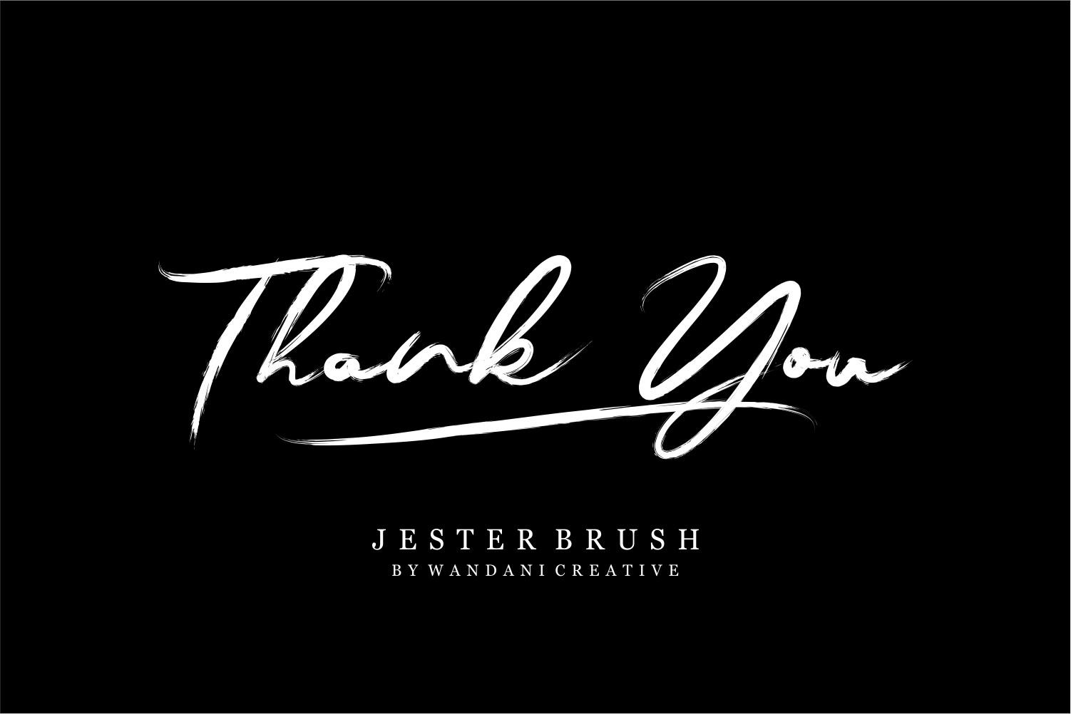 Jester Brush example image 15