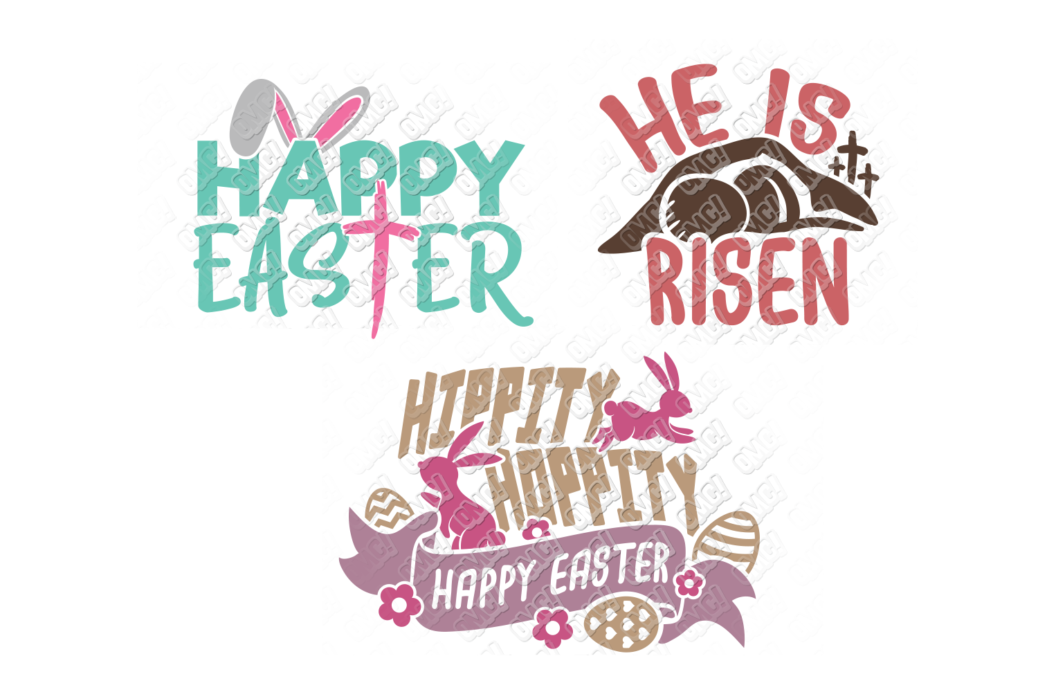 Easter Quotes SVG Phrases Shirt in SVG, DXF, PNG, EPS, JPEG example image 2
