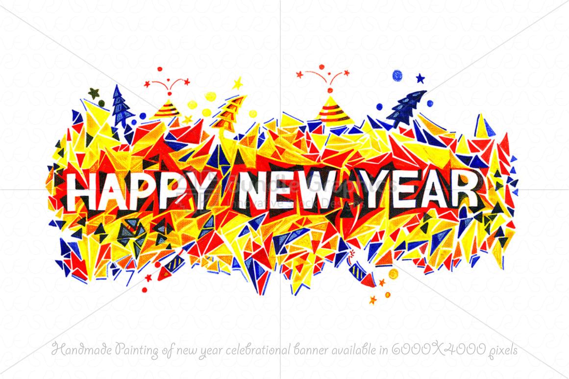 Christmas & New Year Bundle of Ornamental Mockups & Graphics example image 13