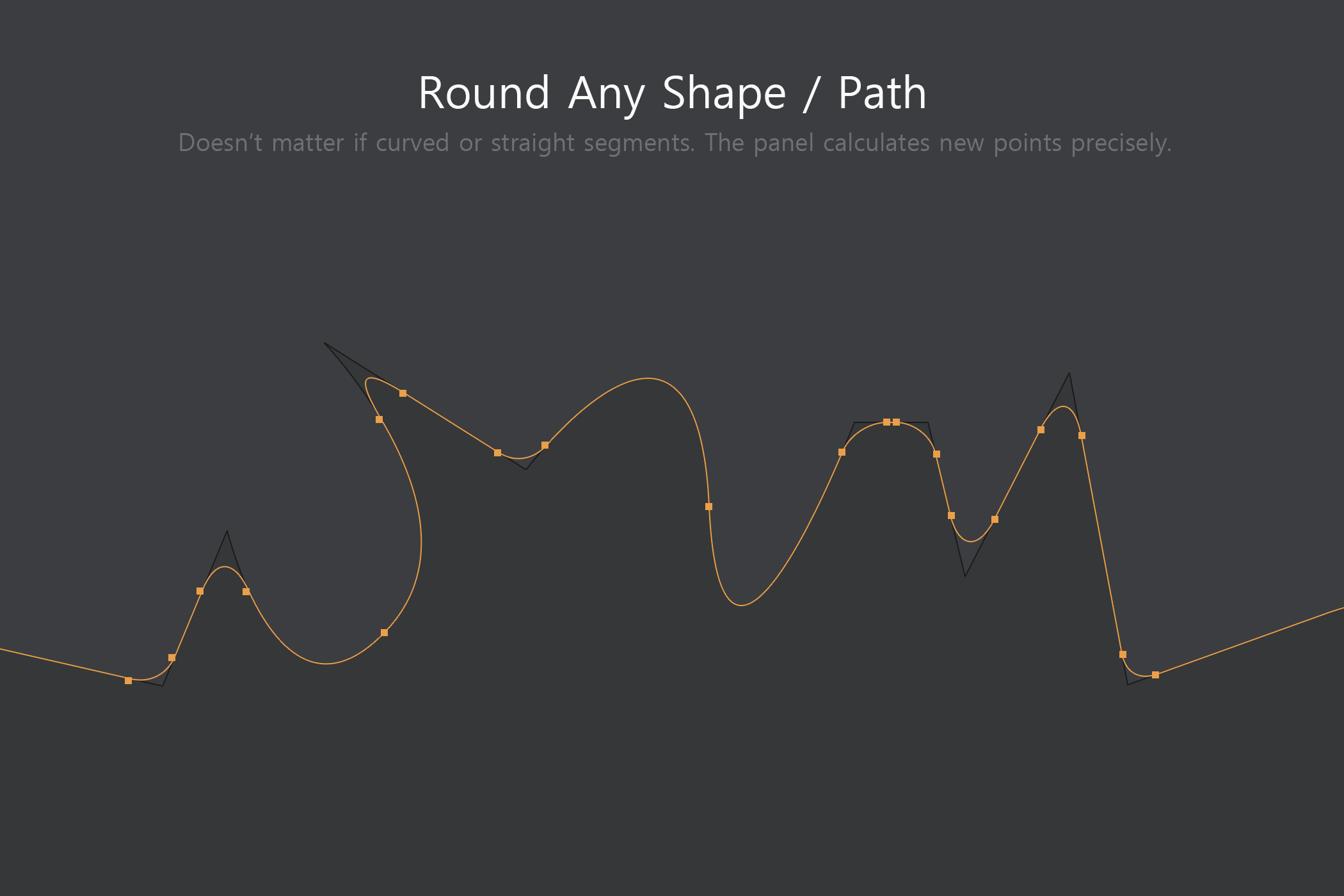 Shape Rounder - Path Editing Kit example image 3