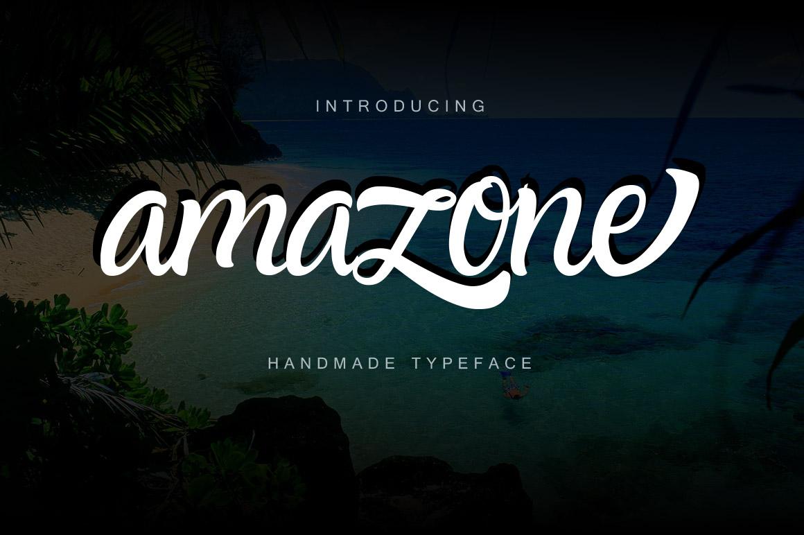 Amazone Font example image 7