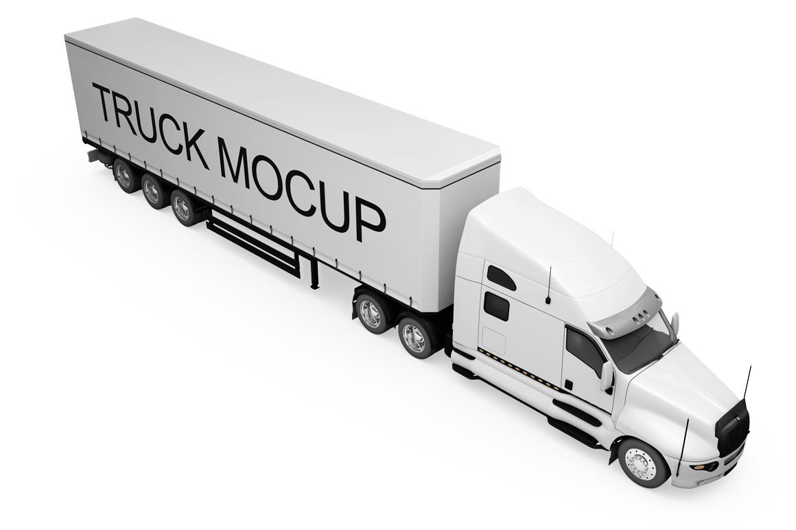 Truck Mockup example image 12