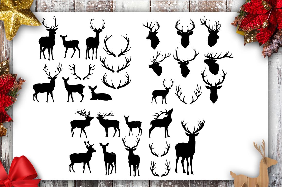 Christmas Bundle SVG bundle 40 designs Winter SVG example image 5