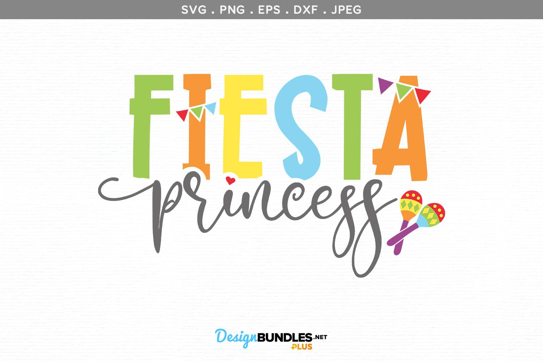Fiesta Princess - svg & printable example image 2