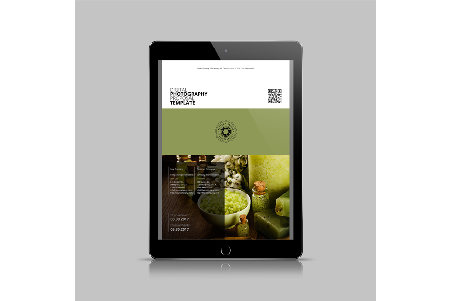 Digital Photography Proposal Template example image 5