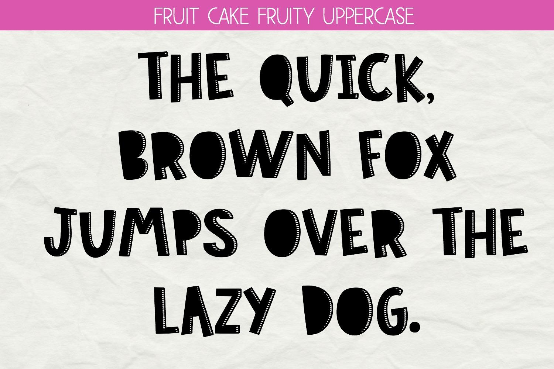 Fruit Cake Handwritten Font example image 3