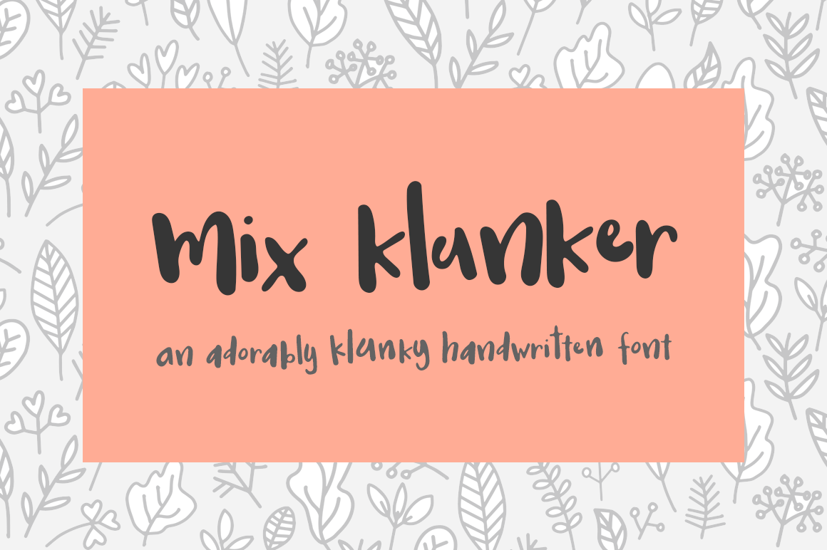 Mix Klunker example image 1