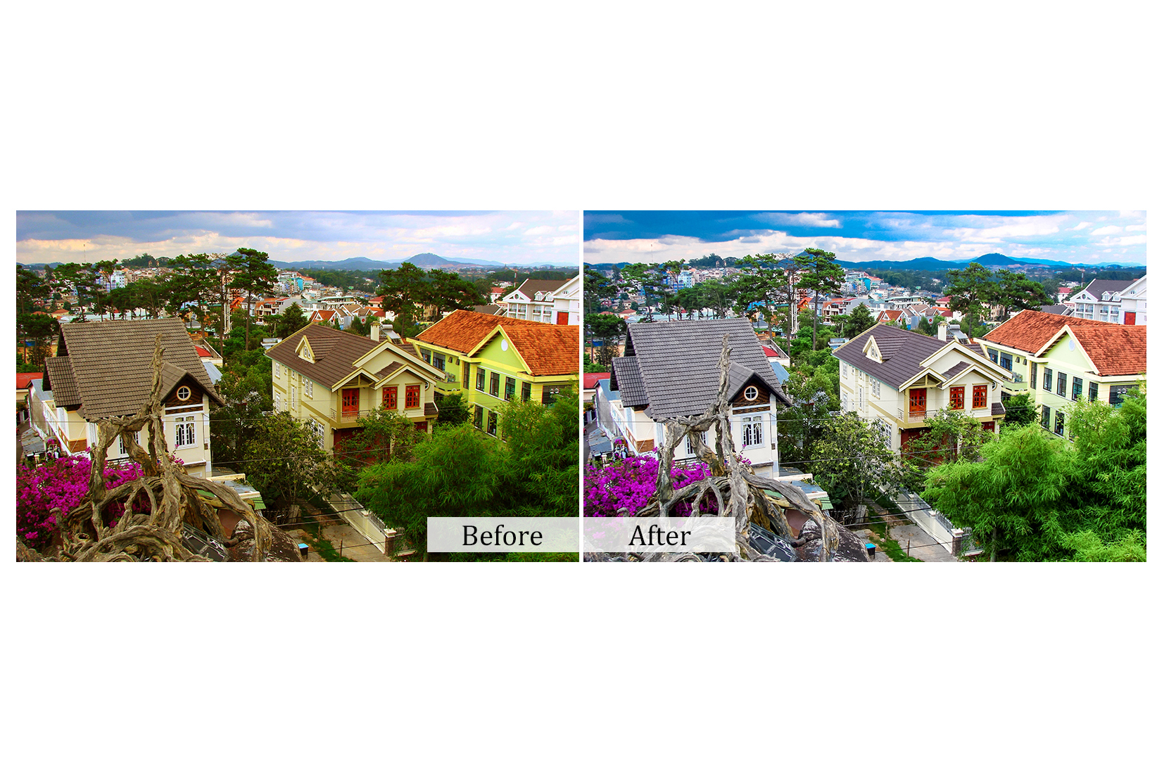 30 Cityscape Photoshop Actions example image 3