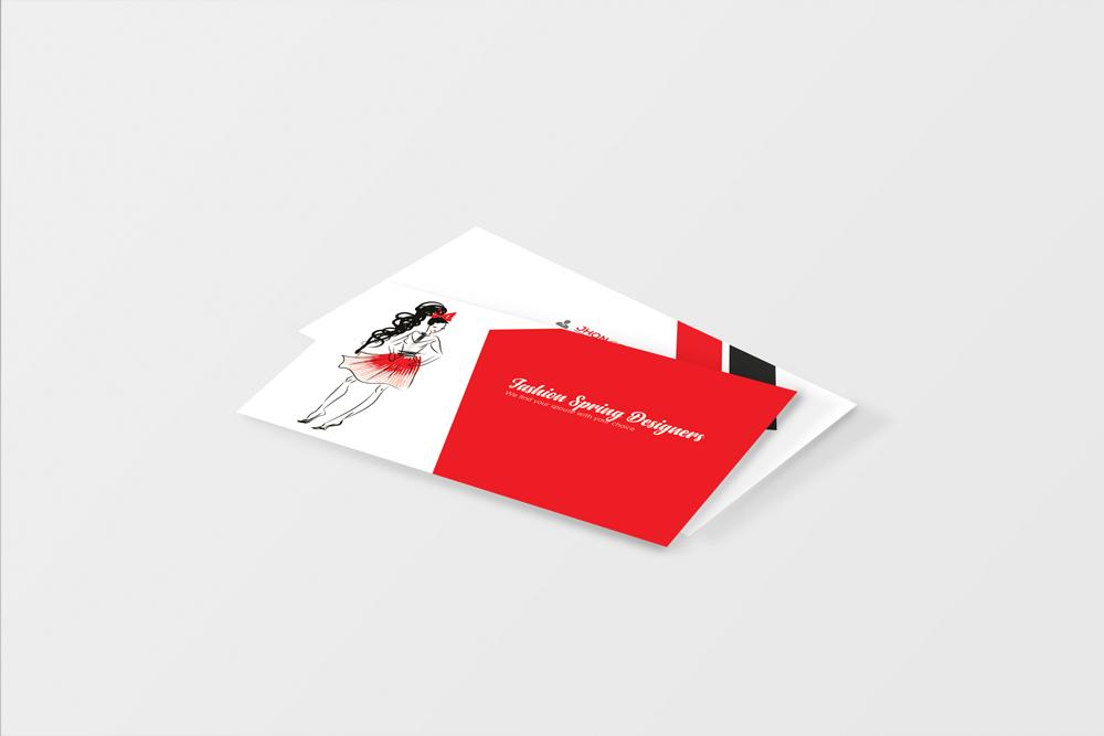 Fashion Designer Business Card  example image 3
