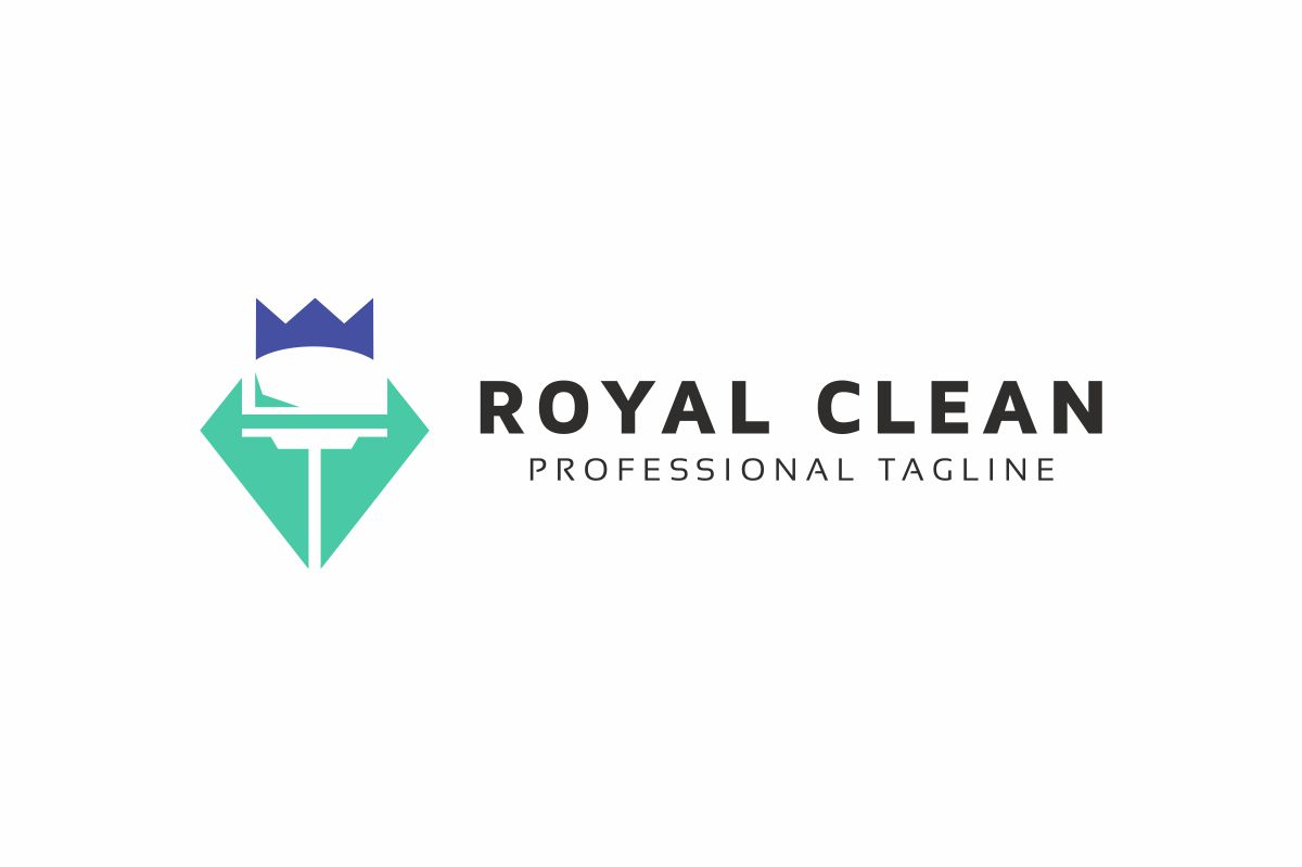 Royal Clean Logo example image 3