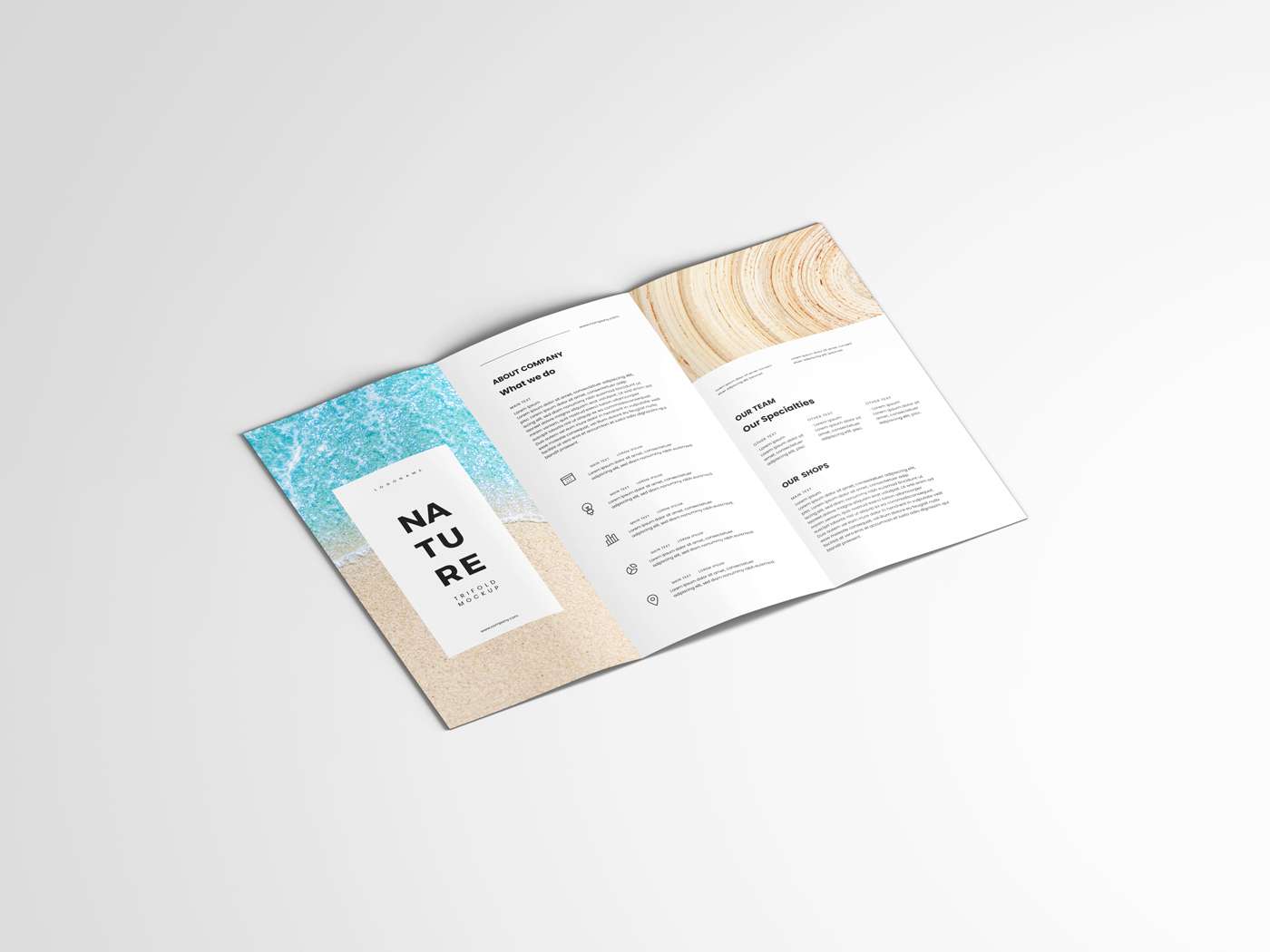 A4 Trifold Mockups V3 example image 18