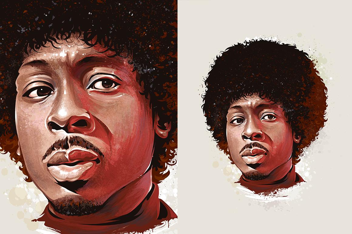 60+ Grunge Illustrator Brushes example image 6