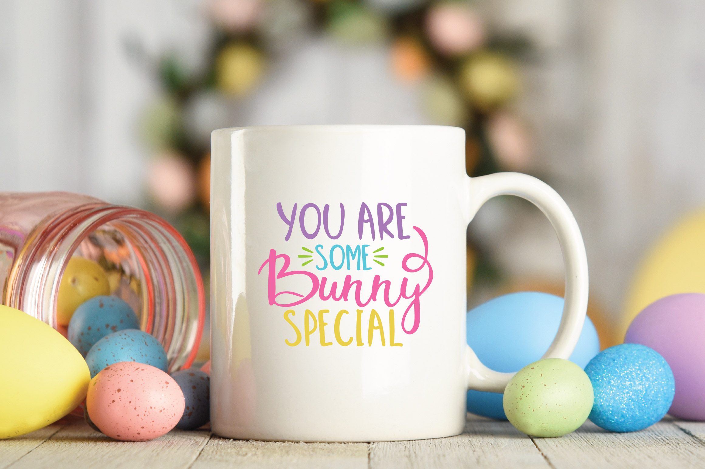 Easter SVG Cut File - You are Some Bunny Special SVG DXF EPS example image 5