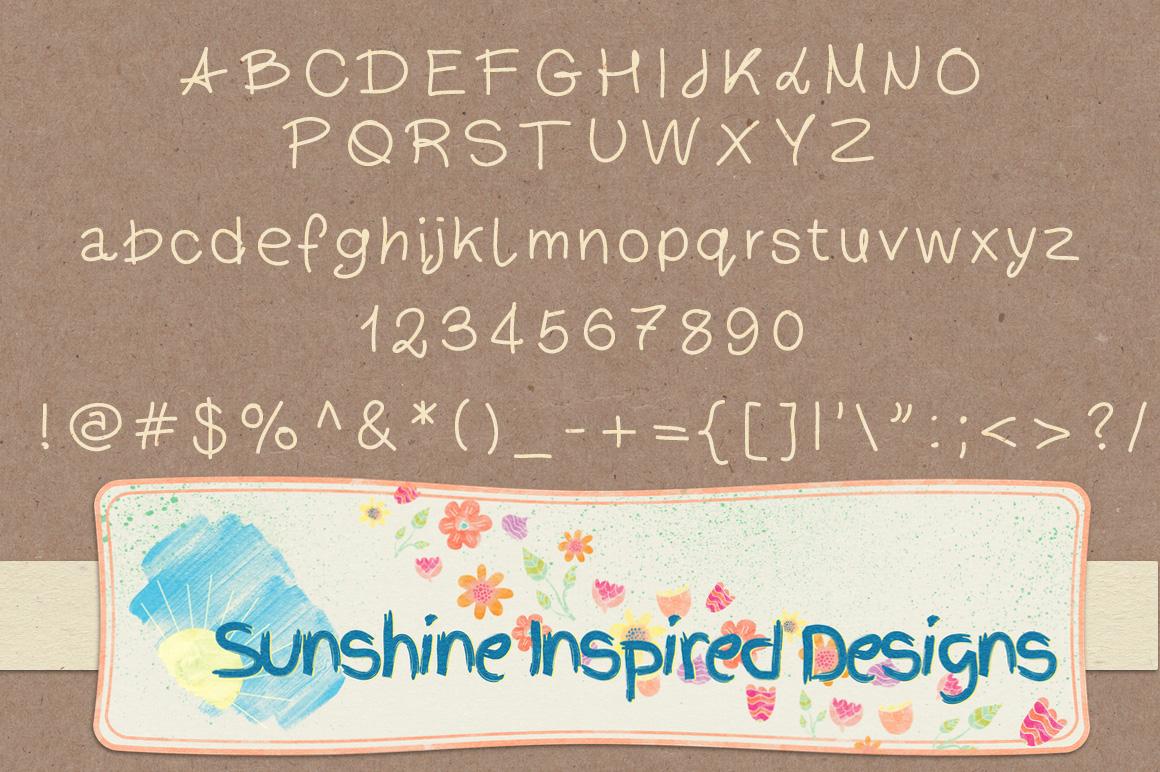 Font No.1, No.2 and No.3 example image 2