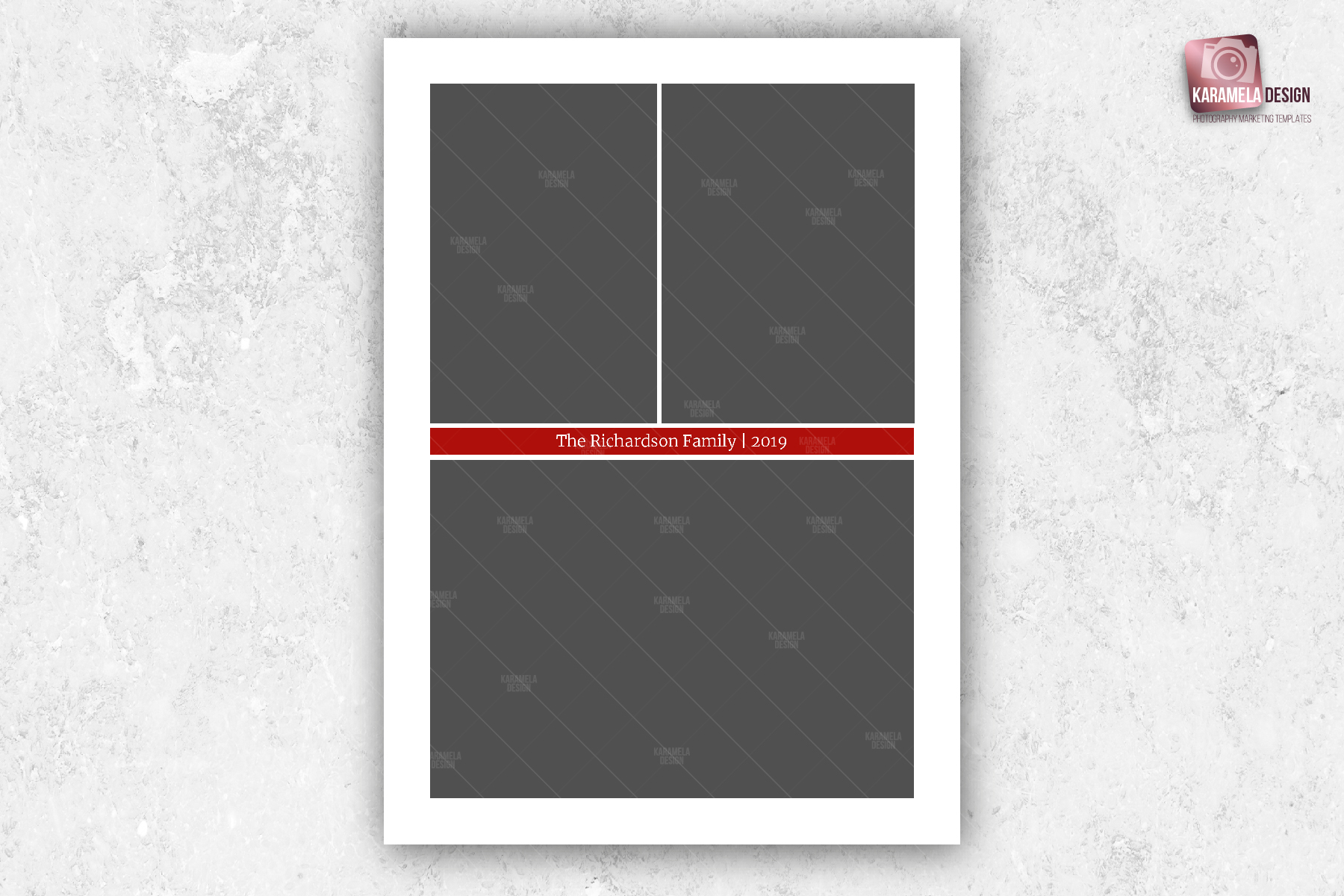 Christmas Photo Card Template example image 5