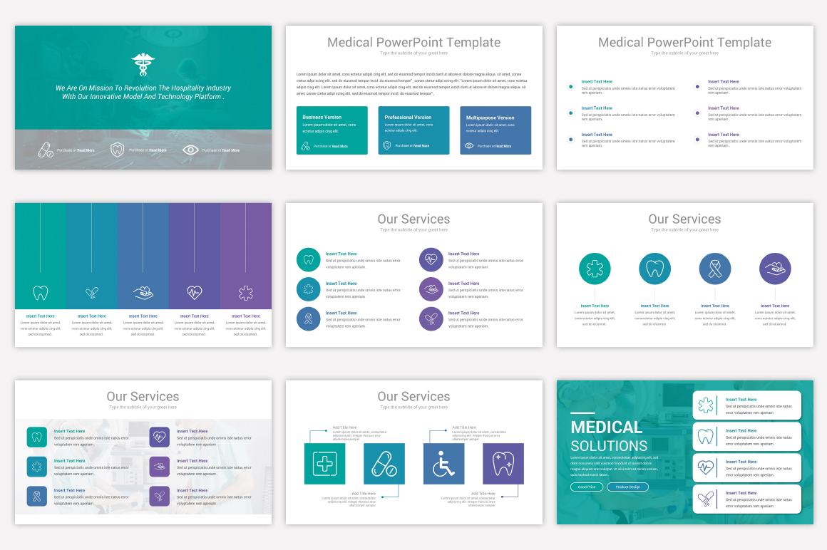 Medical Keynote Template Solutions example image 6
