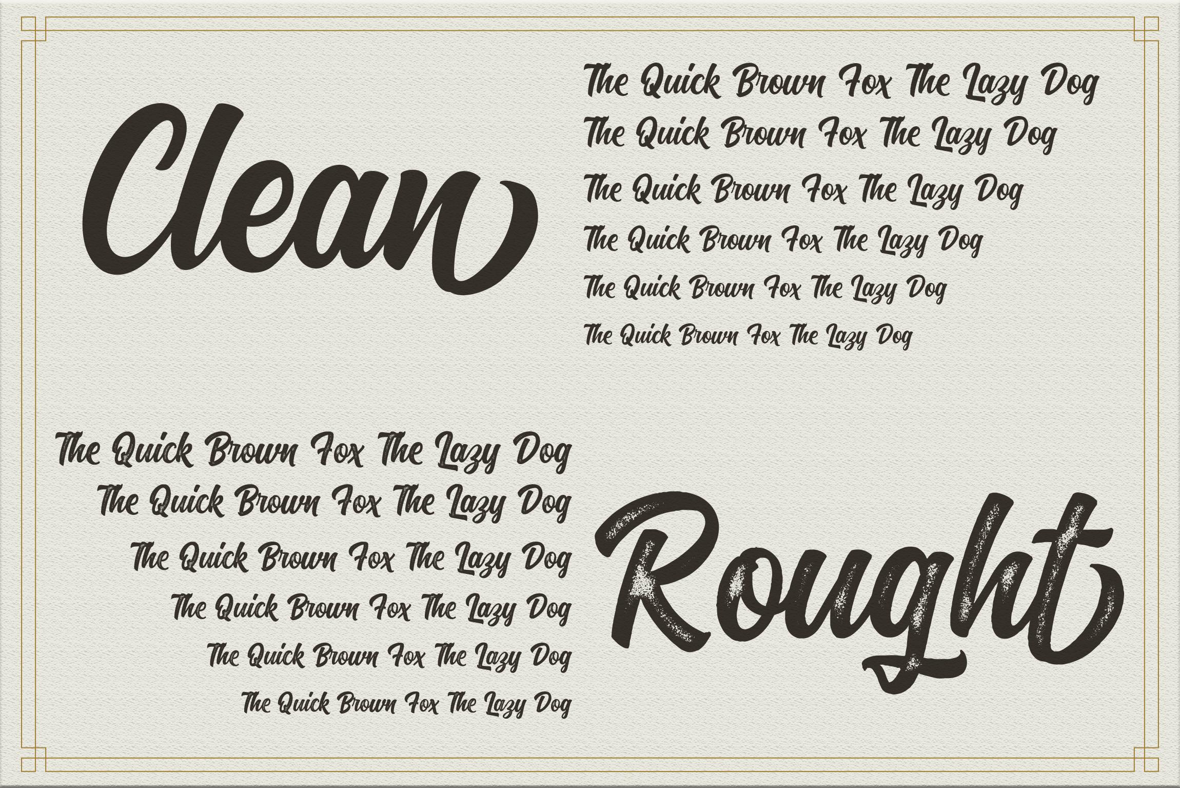 Kaktoes Script Font example image 8