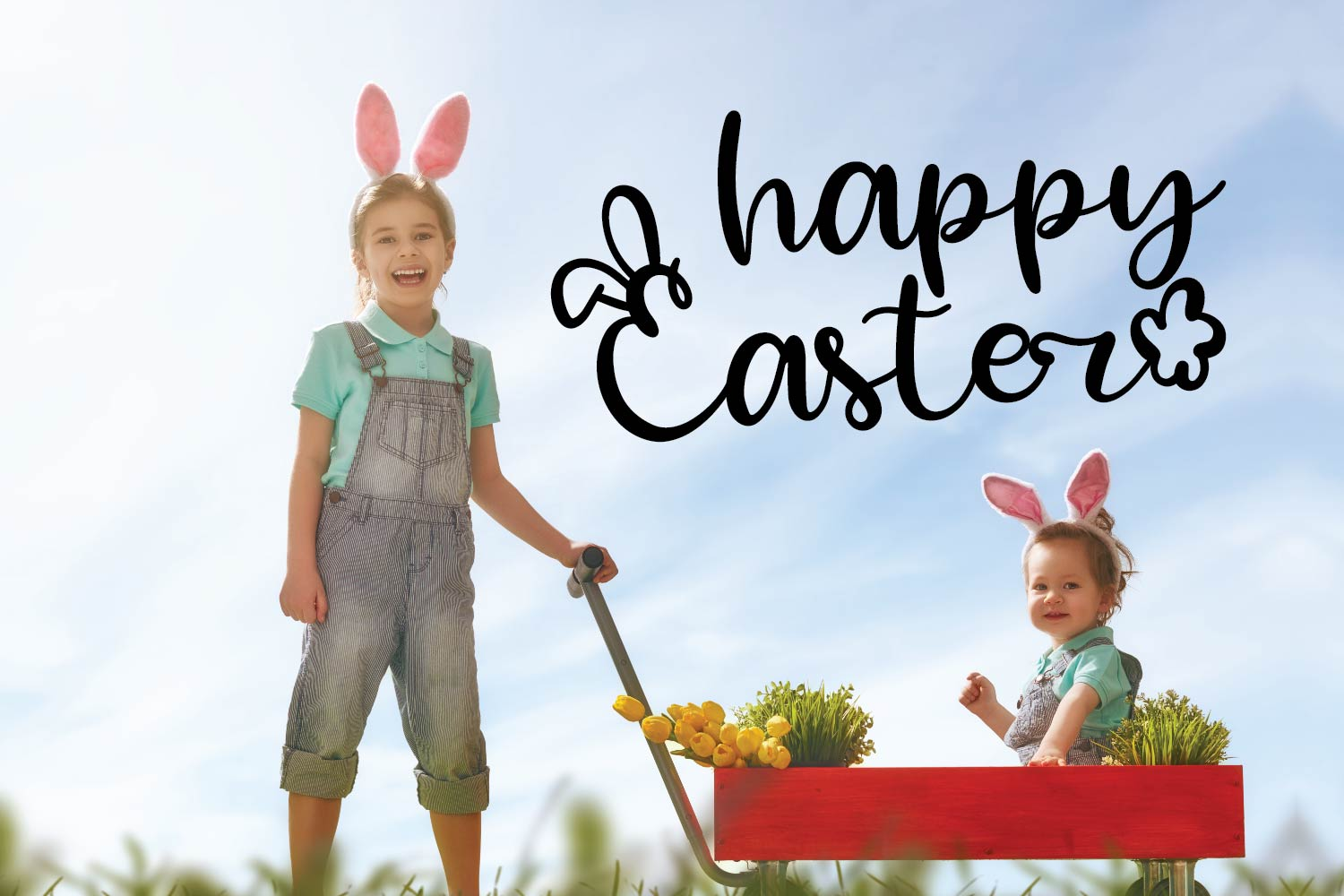 Rabbity - A Spring Font With Ears & Cotton Tails example image 9