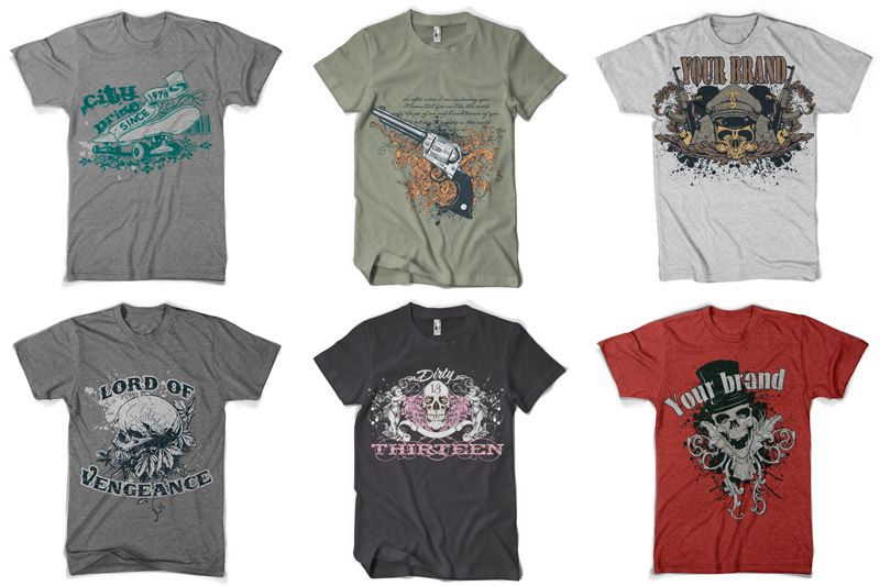 100 T-shirt Designs Vol 1 example image 15