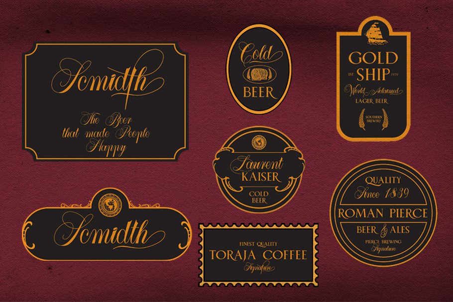 Larasati font duo with extras example image 6