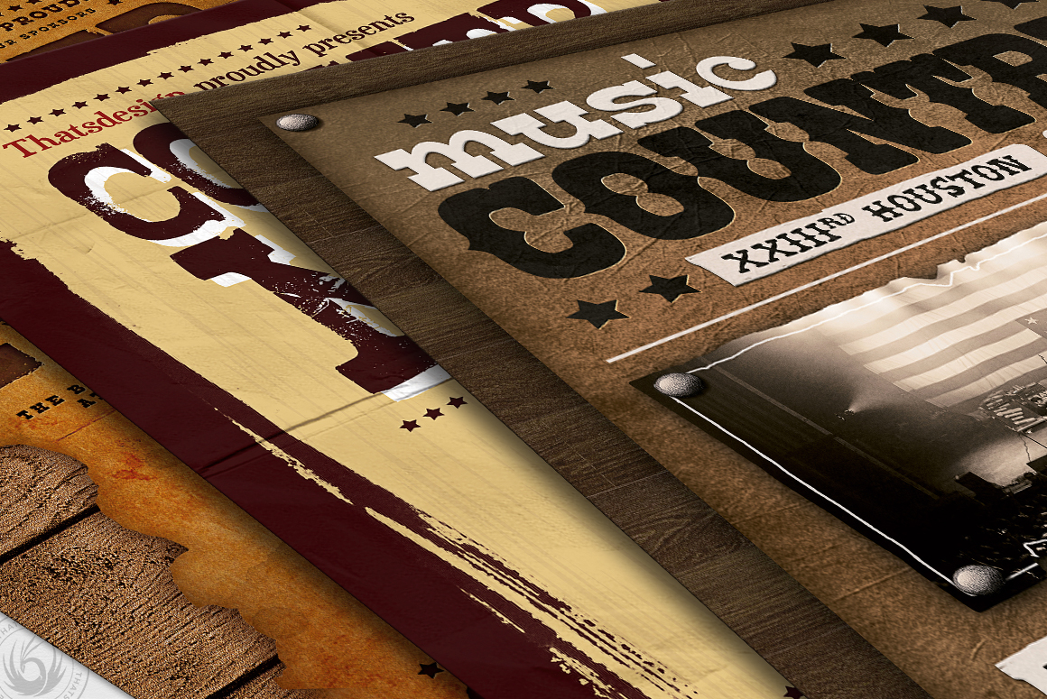 Country Music Flyer Bundle V2 example image 10