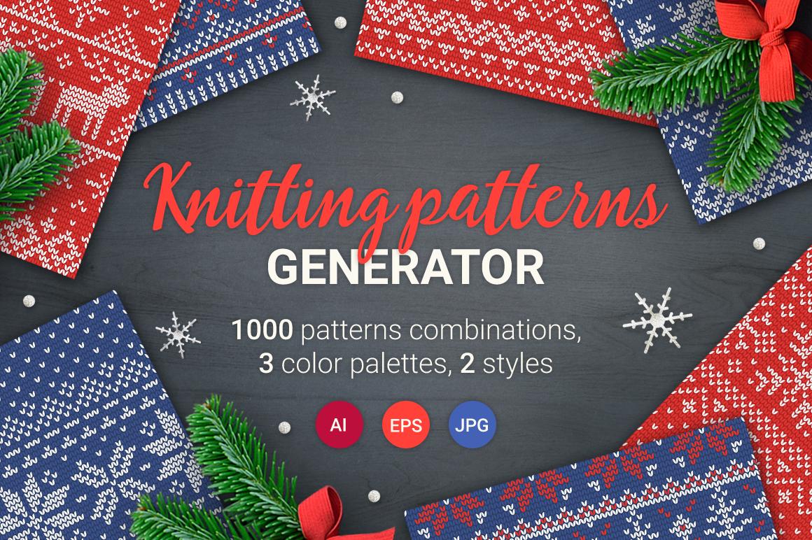 1000 Knitting Patterns Generator example image 1