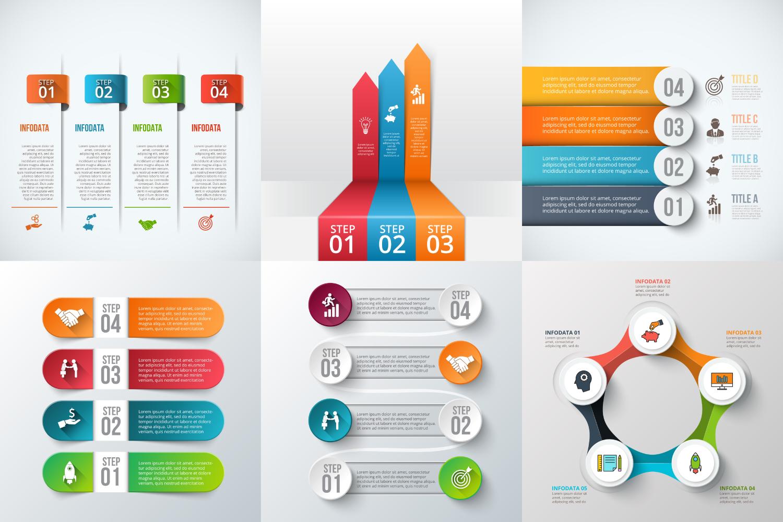Infographic elements bundle v.01 example image 4