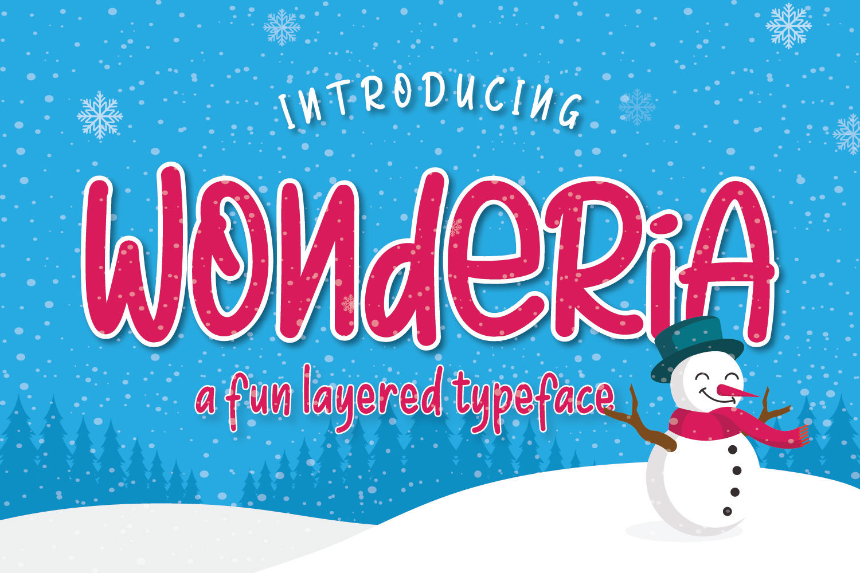 Wonderia example image 1