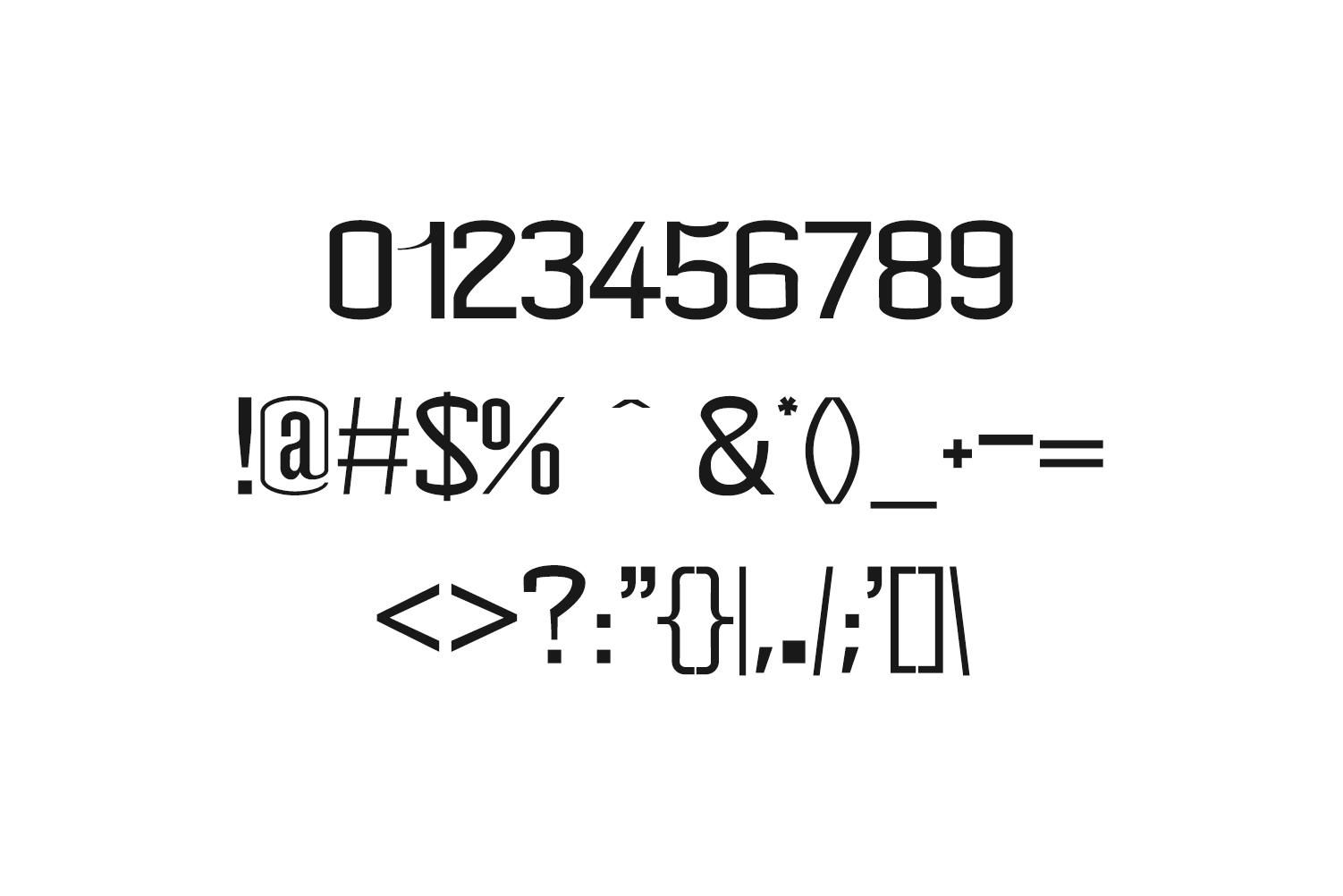 Geldwine Sans Serif Font Family example image 3