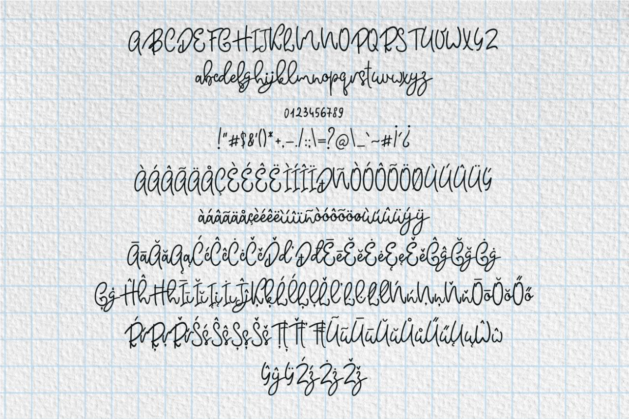 Monteline Script and Doodles example image 4