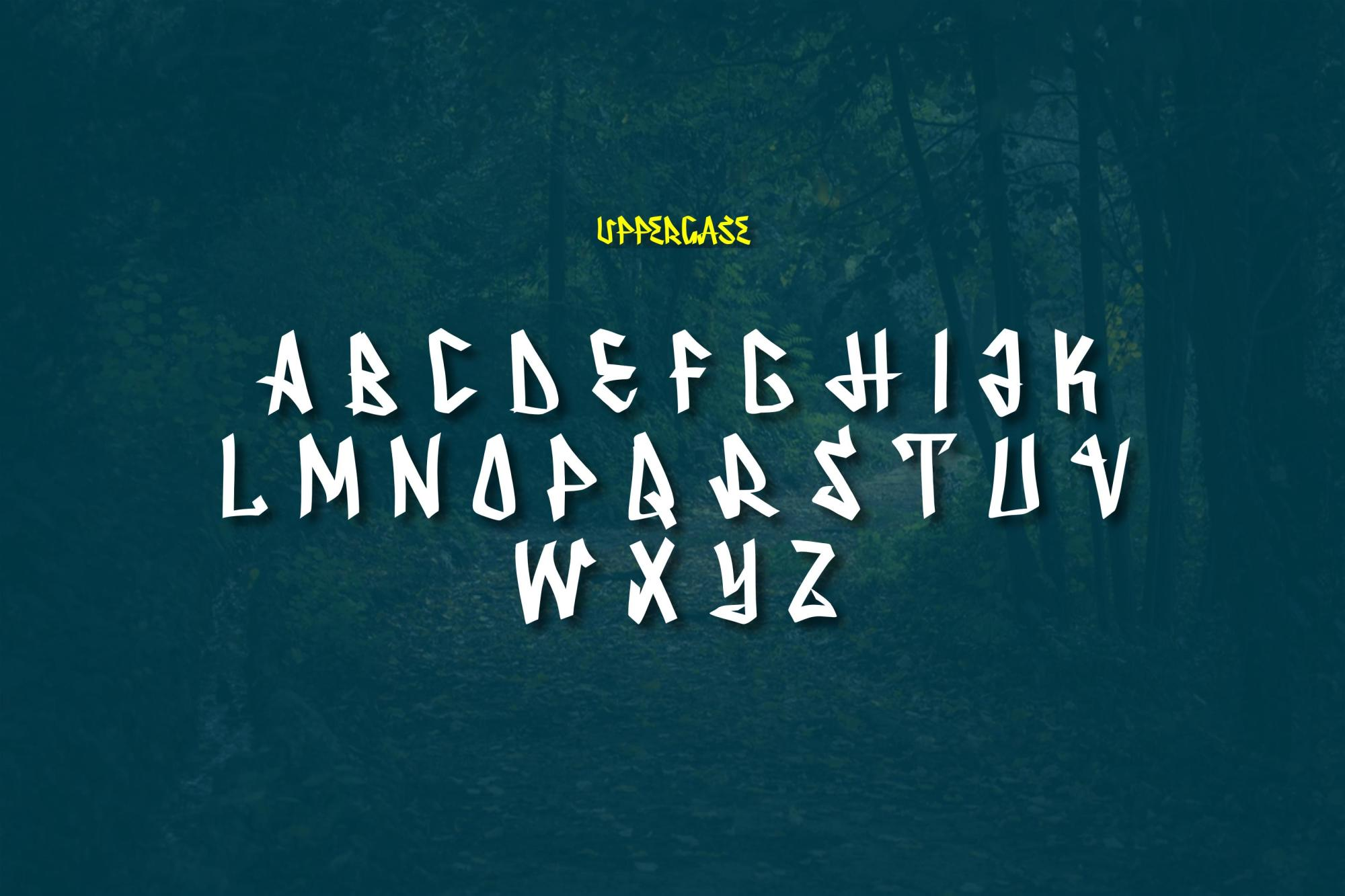 Serpong Typeface example image 5