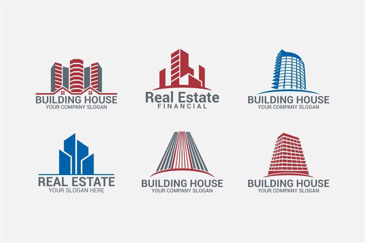 Real Estate Logo & Badges example image 4